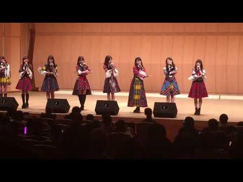 2018年3月6日AKB48G被災地訪問 365日の紙飛行機