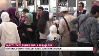 Karne heyecanı umre sevincine dönüştü - TRT DİYANET 2017 Video