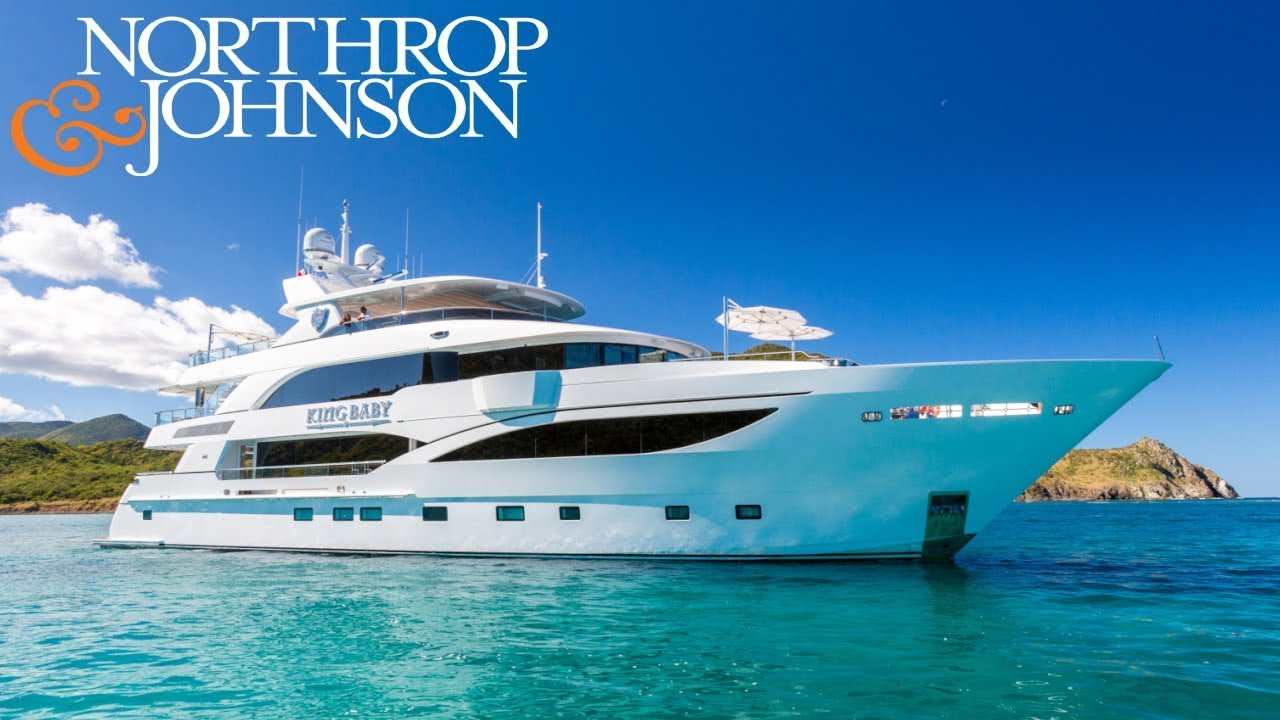 LUXURY SUPERYACHT KING BABY FOR CHARTER