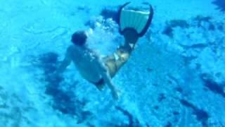 Merman Jesse Swimming at Silver Glen 5 thumbnail