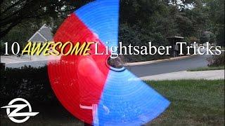 Star Wars | 10 AWESOME Lightsaber Tricks