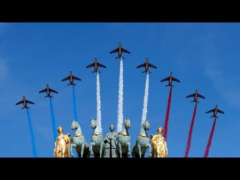 Macron, Trump celebrate Bastille Day in Paris