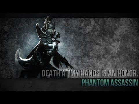 видео: dota 2 Гайд по герою - mortred | Морта | phantom assassin | Фантомка