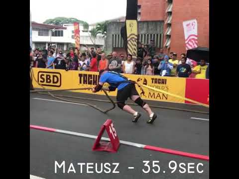 Worlds Strongest Man 2018 - Bus Pull @ WSM 2018 - Day 2 FINALS