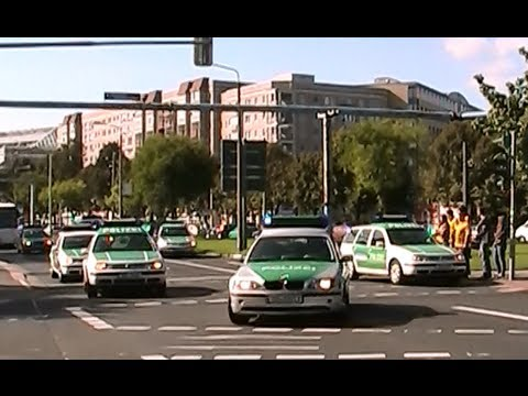 Polizeieinsatz in Dresden beim Fußballspiel 30.9.2012