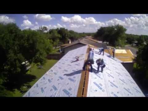 HR Roofing Inc - Metal Roof Installation Timelapse