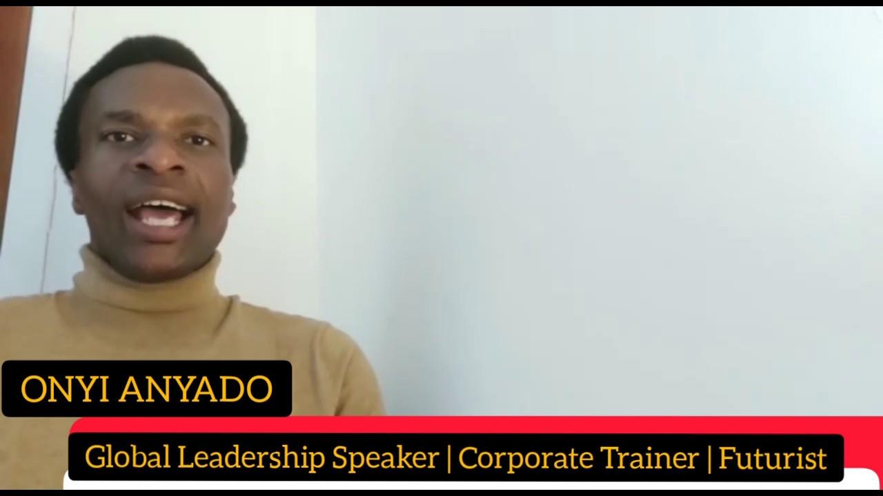 Onyi Anyado   Global Leadership Speaker   Futurist   The future of work