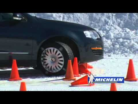 How to Stop a Car Without ABS | Michelin® Winter Driving Academy