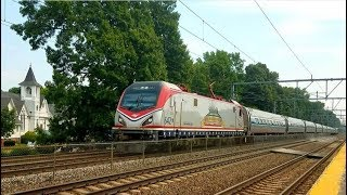 Extremely Rare Amtrak, MBTA, And Rare Freight Trains! 1000 Subscriber Special!