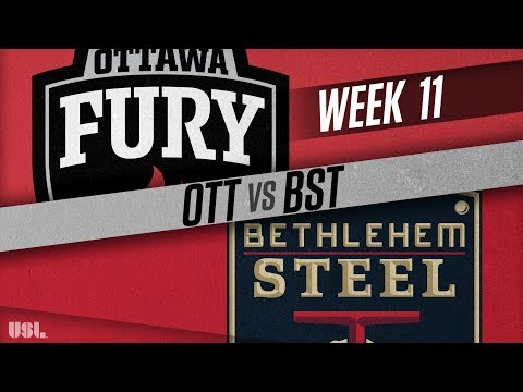 Ottawa Fury FC vs Bethlehem Steel FC: May 25, 2018