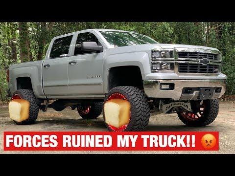24x14 American Force Wheels RUINED MY TRUCK!