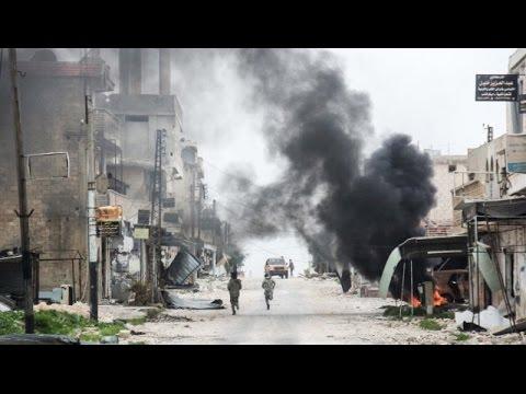 US Strikes Syrian School Sheltering Civilians