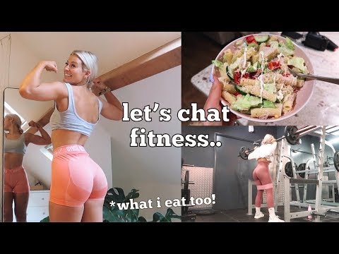 Fitness Catch Up: Body Update, What I Eat & New Goals