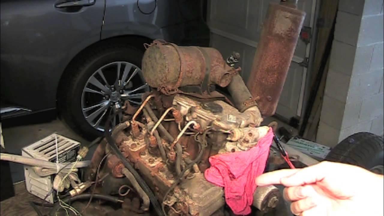 isuzu 3lb1 diesel engine motor startup 3 cylinder 4 Cylinder Isuzu Diesel Engine