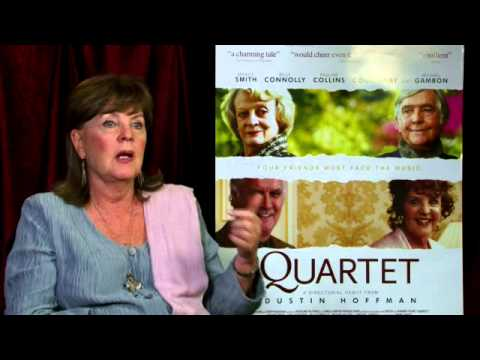 Pauline Collins on taking life seriously (Quartet interview)