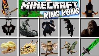 Minecraft - KING KONG MOD - King Kong está FURIOSO!! Corre!