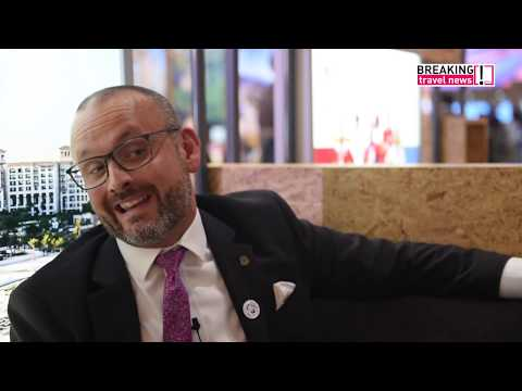 Tom Legg, director of sales, The St. Regis Saadiyat Island Resort, Abu Dhabi