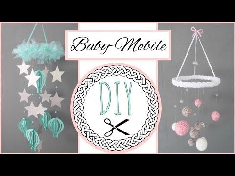 Diy Mobile Furs Babyzimmer Anleitung Zum Selber Machen