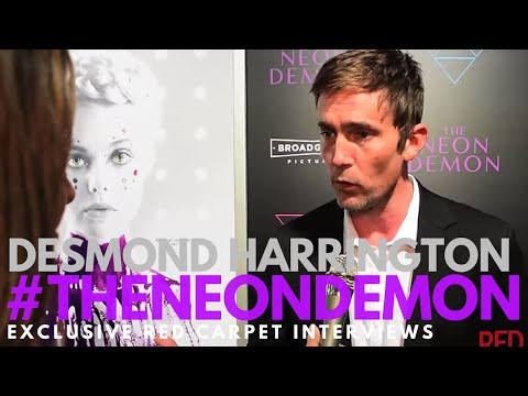 Desmond Harrington ed at the LA Premiere of The Neon Demon TheNeonDemon
