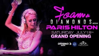 Paris Hilton Foam & Diamonds Opening Party @ Amnesia Ibiza 2015