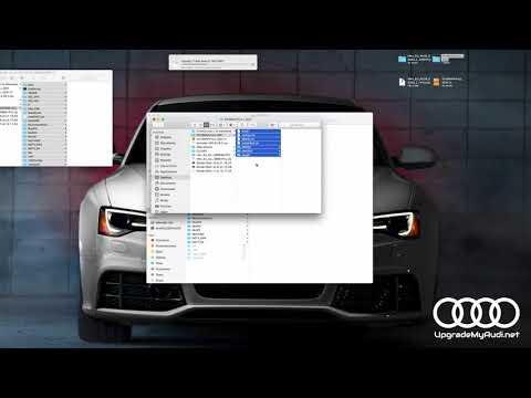 Firmware update in Audi MMI 3G Plus / High / Basic