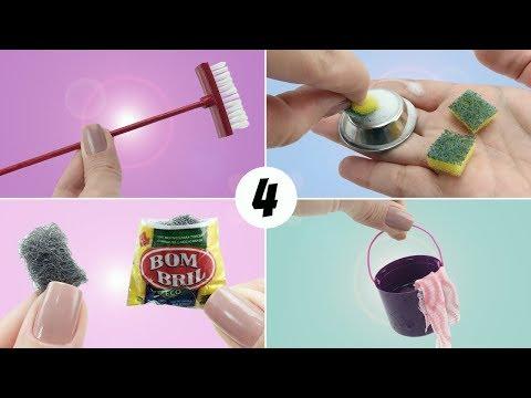 4 Coisas de Limpeza que toda Barbie e outras Bonecas precisam ter - Vassoura, Balde e mais! #4