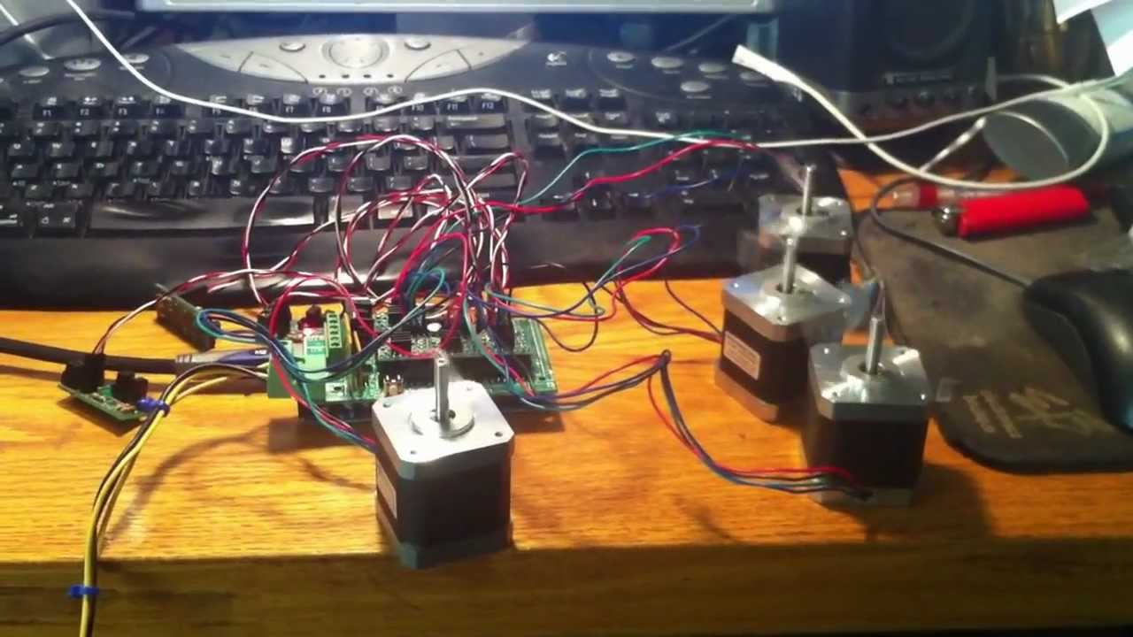 Arduino Mega 2560 R3 With Ramps 1 4 Powering 4 Stepper