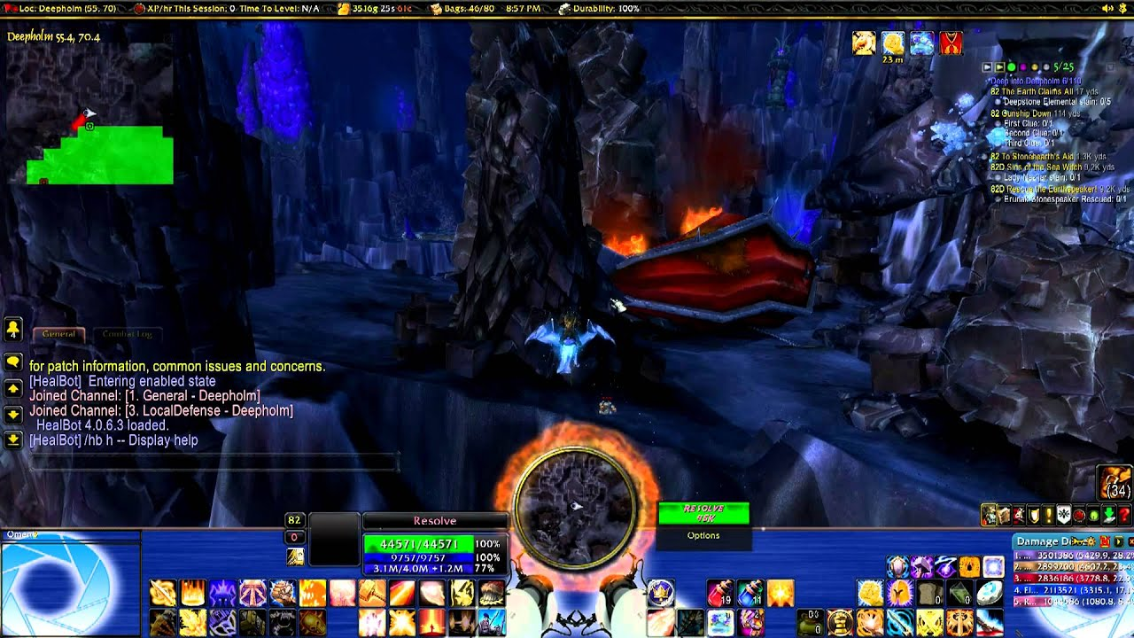 World of Warcraft Portal Theme UI
