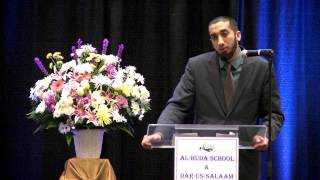Commencement Speech - Ustadh Nouman Ali Khan | Al-Huda School Graduation 2013