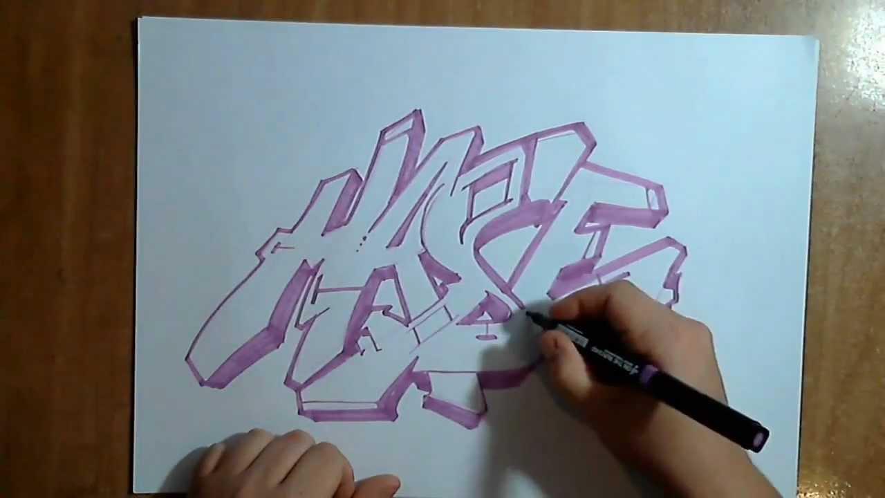 Graffitis sencillos para dibujar en papel for Papel para dibujar