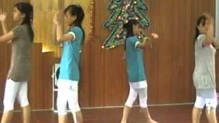 Natal 2007 Tarian GKKB Tebas Karya Terbesar