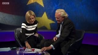 Michael Heseltine on Newsnight, gives his opinion on the Brexit negotiations, and Brexit issues