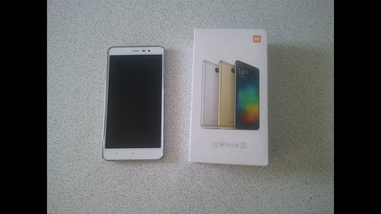 XIAOMI Redmi Note 3 Pro 55 Inch GB RAM SILVER