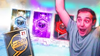 NBA 2K17 My Team BEST PACK OPENING EVER! DIAMOND, AMETHYST, RUBY PULLS IN ONE BOX! NOT CLICKBAIT!