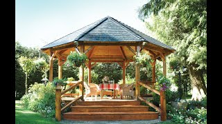 Realcedar.com - Constructing A Gazebo Part 1
