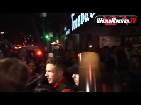 Brandon Flowers And 'The Killers' Band Leave The Troubadour