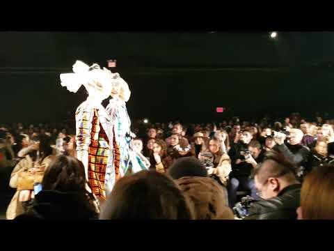 Desfile NYFW fevereiro 2019 – direto de Nova York