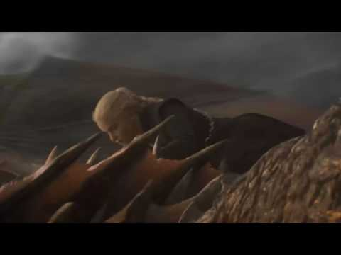 Game of Thrones Dragon Attack to the tune of Creedence Clearwater Revival Fortunate Son