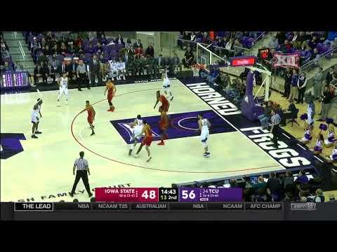 Iowa State vs TCU Men's Basketball Highlights
