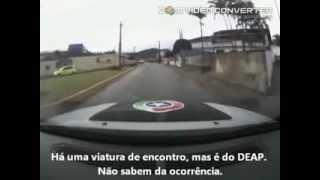 Perseguição Moto furtada em Jaraguá do Sul - PMSC [ORIGINAL]