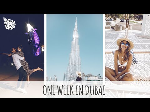 ONE WEEK IN DUBAI | ALEXANDRA PEREIRA