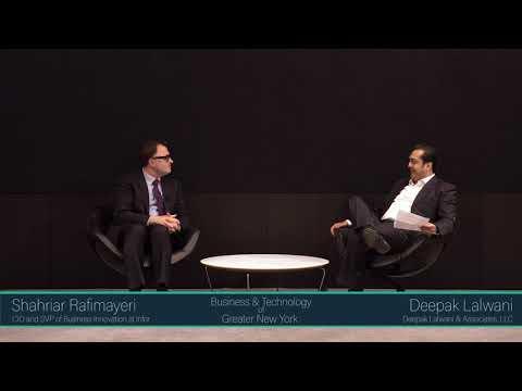 Fireside chat w/ CIO and SVP of Business Innovation, Shahriar Rafimayeri