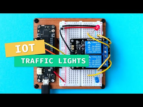 Making IoT Traffic Lights 🚦 | How To