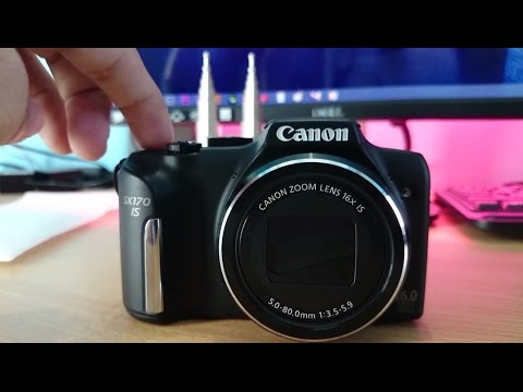 Unboxing And Review Canon Powershot SX170 IS  | Versatile Budget Camera