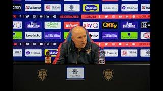Cagliari-Milan, la conferenza stampa pre-gara