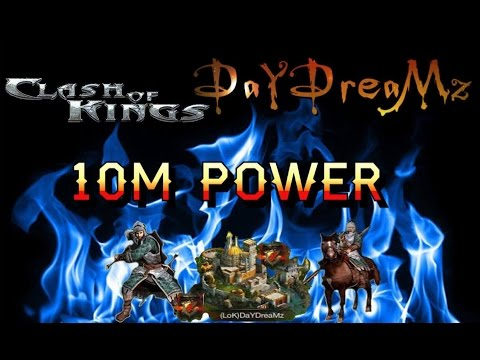 10m Power & Troop Composition (Clash Of Kings Tips And Tricks)
