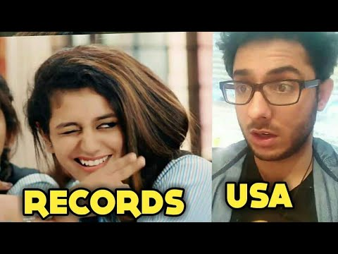 PRIYA PRAKASH VARRIER BREAKS RECORDS | CarryMinati IN USA, Interesting Experience | KSI vs Jake Paul