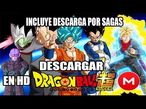 Como Descargar La Serie Dragon Ball Super En HD Por MEGA Facil
