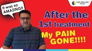 【Sano Pain Care 疼痛救星】Testimonial 真实案例 ★ Lower Back Pain & Leg Pain 腰痛及脚痛