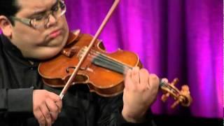 """Robert Gupta and Joshua Roman duet on """"Passacaglia"""""""
